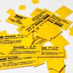 VCI emitter plastic tabs