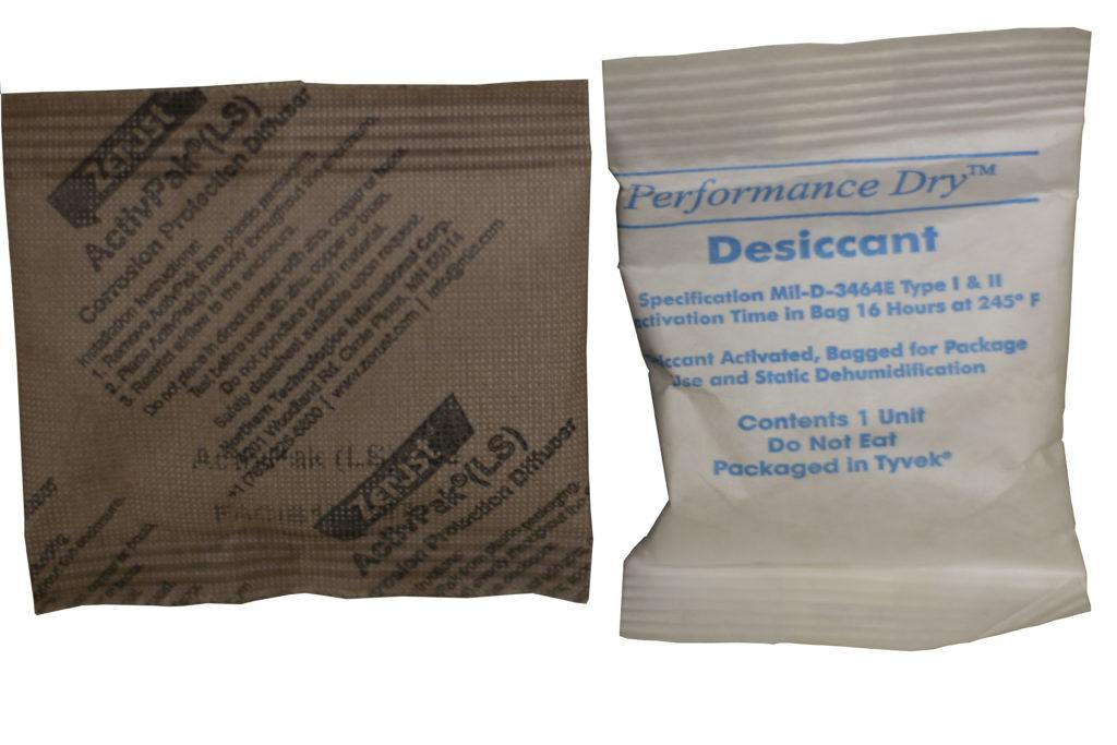 VCIs vs Desiccants