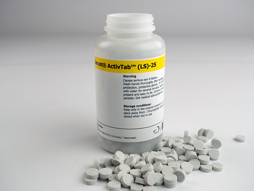 flash corrosion VCI tablets